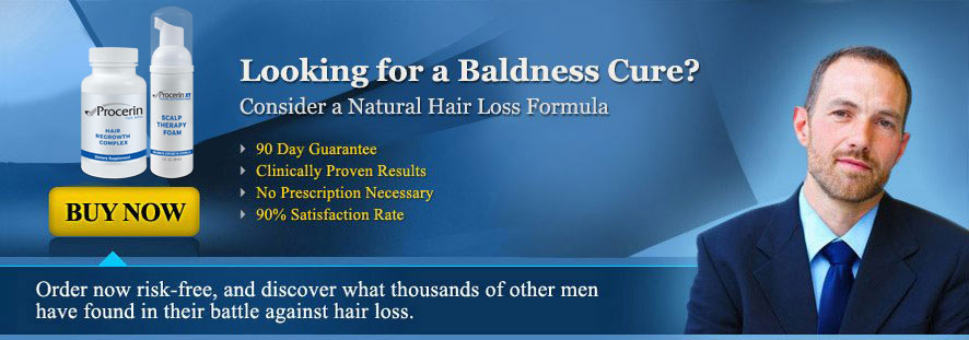 Looking for a Baldness Cure?