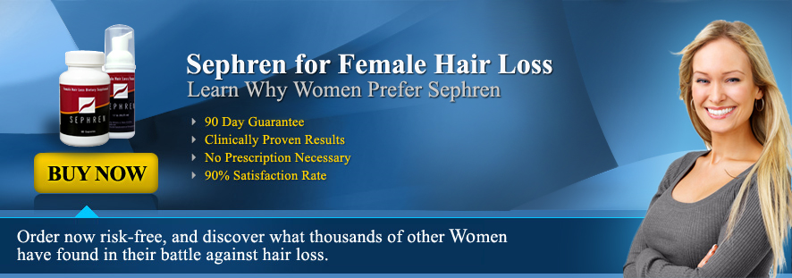 Sephren for Female Hair Loss